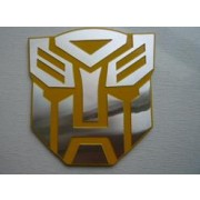Decal Transformer YELLOW