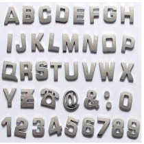 Decal Chrome Letter