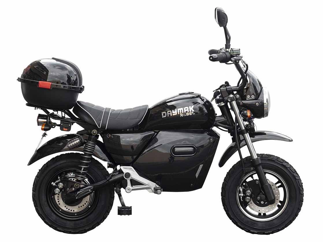 Daymak - Rebel 60v Lithium Black Range: up to 40km Max Speed: 32km/h