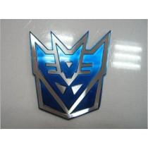 Decal Decepticon BLUE 3D