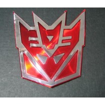Decal Decepticon RED 3D